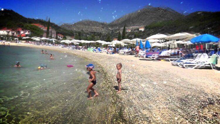 Хорватия поездка в долине Слано. Дубровник.